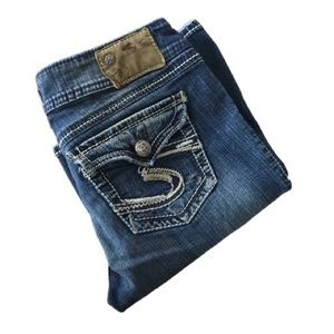Suki surplus Silver Jeans 29/32 flaw